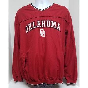 Colosseum Athletics Oklahoma Windbreaker Jacket XL